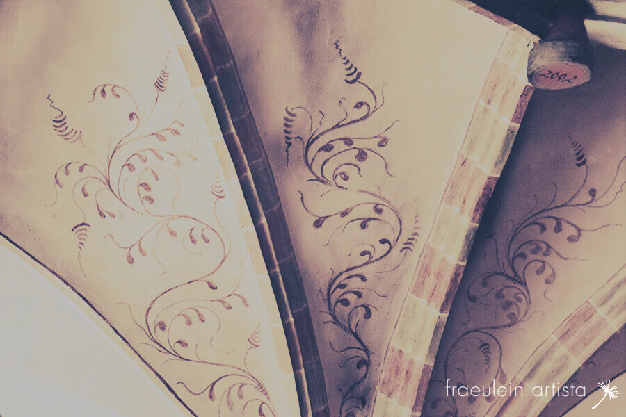 zentangle gotische Malerei