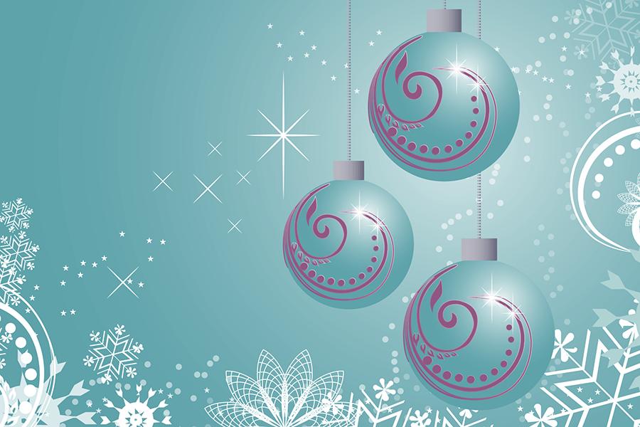 Adventskalender 2017 Weihnachskugeln