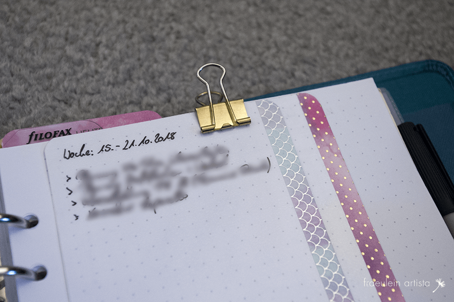 Bullet Journal Karten