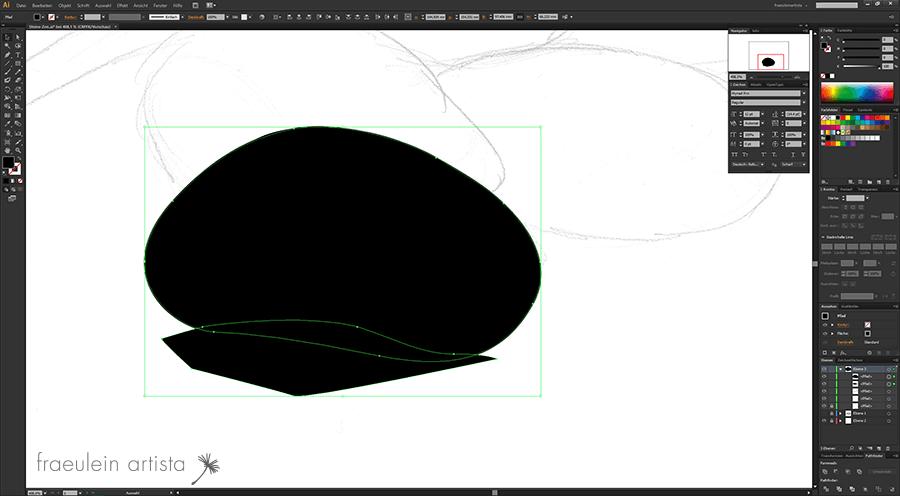 10 Grafik erstellen Adobe Illustrator Teilung