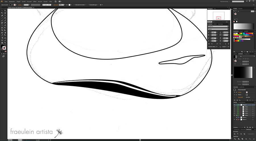 12 Grafik erstellen Adobe Illustrator Vorbereitung Angleichen