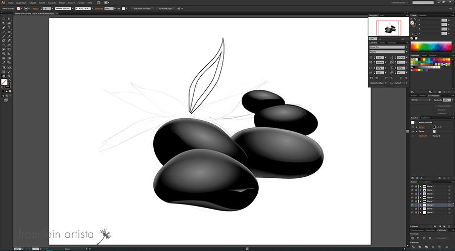23-Grafik_erstellen_Adobe_Illustrator_blatt_pflanze_gefuellt