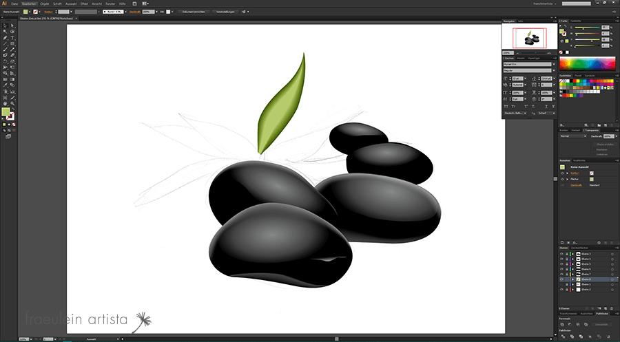 25-Grafik_erstellen_Adobe_Illustrator_blatt_pflanze_fertig