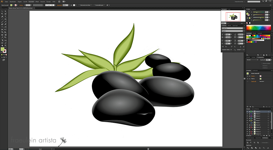 26-Grafik_erstellen_Adobe_Illustrator_blatt_pflanze_fertig