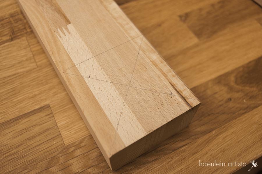 Buchpresse bauen: Quadrat