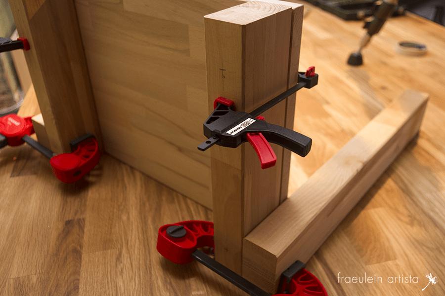 Buchpresse bauen: Testaufbau1