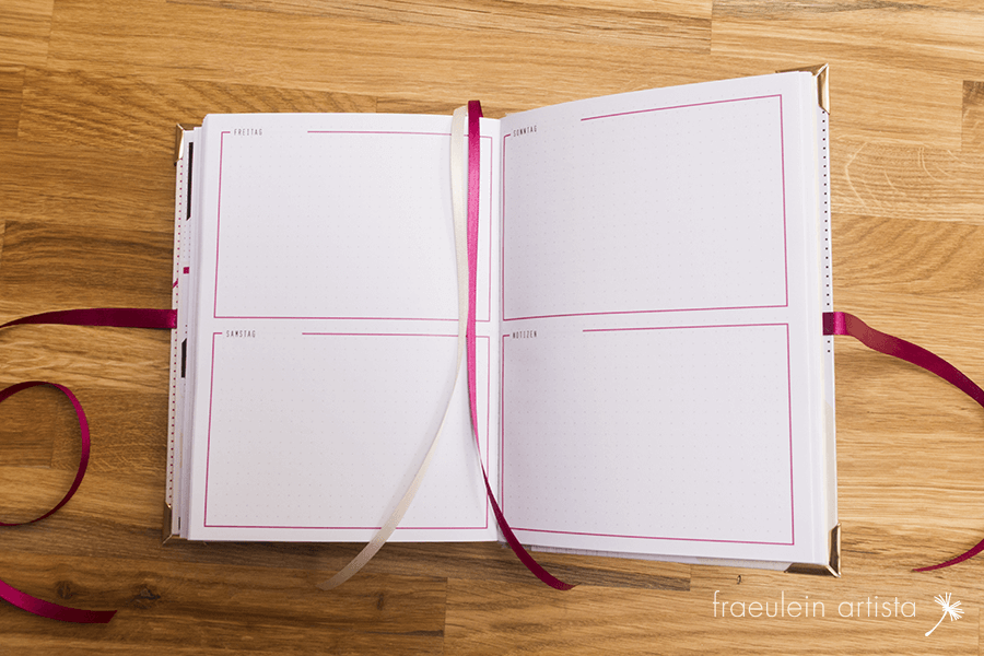 Bullet Journal Maria Tagesplan