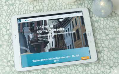 ViaThea-Website endlich online