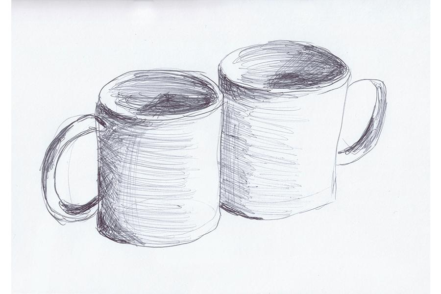 5-Minuten-Bilder Tassen