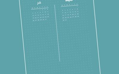 Bullet Journal: Benötigst du eine Jahresübersicht?