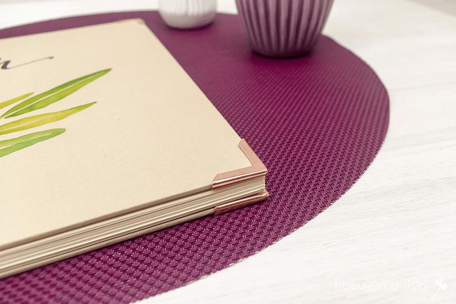 Hochzeitsgästebuch Buchecken