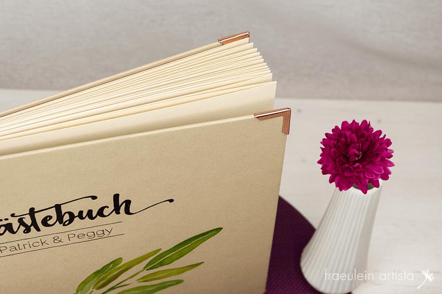 Hochzeitsgästebuch Seiten
