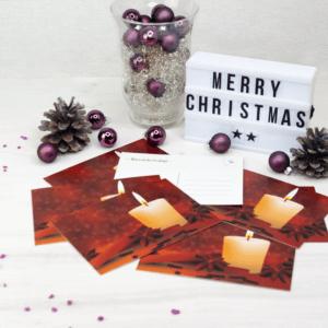 Die Weihnachtskarten 2020 sind da